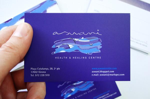 Diseño de dos tarjetas de visita