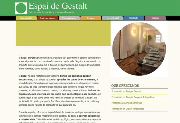 Web Espai Gestalt I