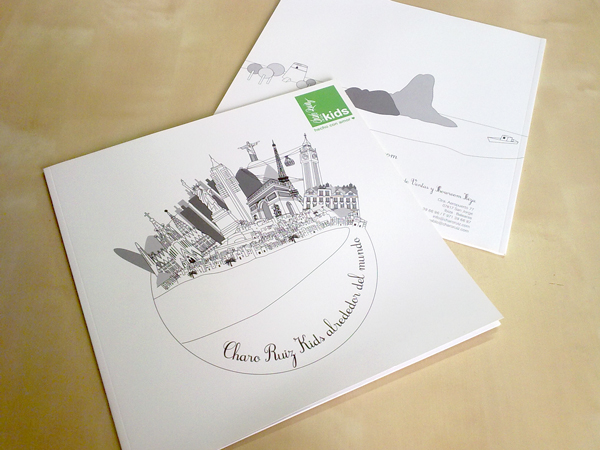 Charo Ruiz Kids - Impresión de catálogo