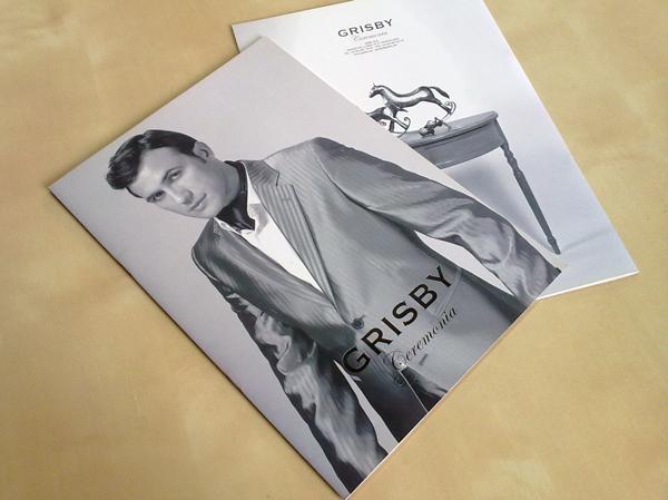 Grisby Ceremonia - Impresión Catálogo