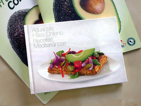 Impresión offset libro promocional Aguacate Hass
