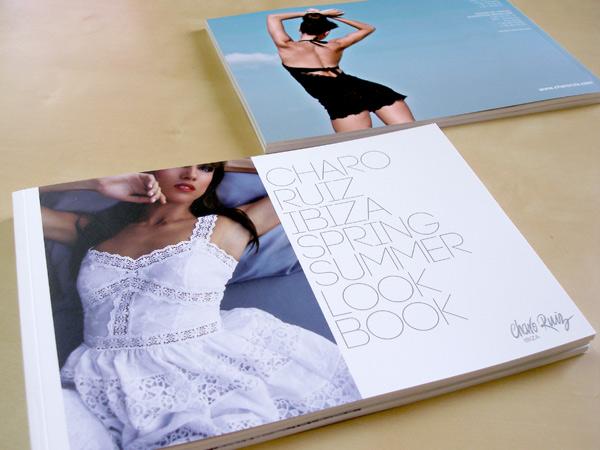 Impresión offset catálogo Charo Ruiz