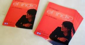 Diseño e impresión flyers brillo concierto el indio orellana