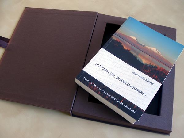 Originarte Impresión offset libro Historia del pueblo armenio