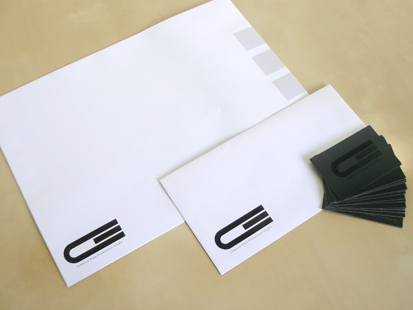 Impresión offset papelería comercial, sobres, tarjetas de visita Creative