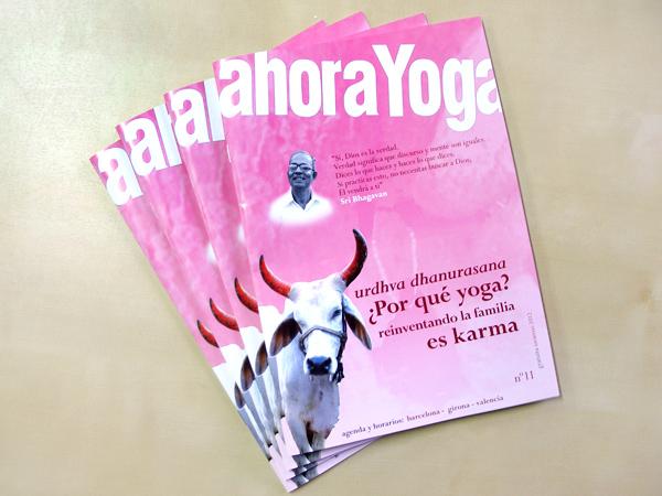 Originarte: impresión offset revista Ahora Yoga