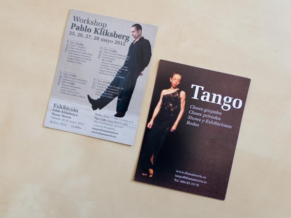 Originarte Diseño e impresión flyers Pabo Kliksberg