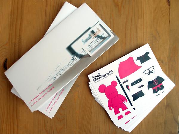 Originarte impresión flyers y folletros trípticos para Swab