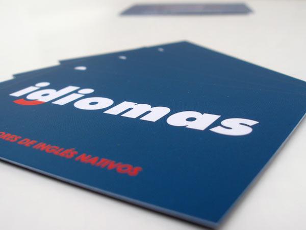Originarte diseño e impresión offset tarjetas de visita igdiomas