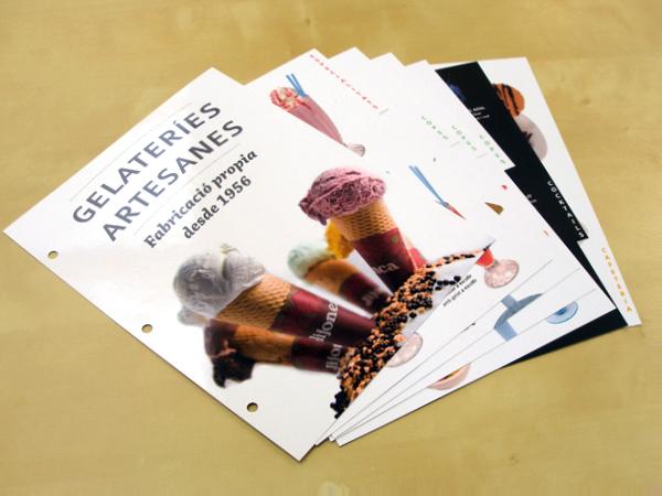 Originarte diseño e impresión de menú para La Jijonenca
