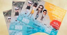 Originarte impresión offset manteles promocionales para Optichic