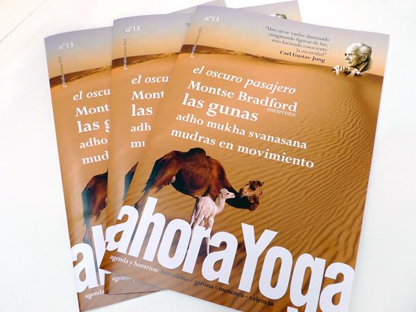 Originarte impresión revista Ahora Yoga