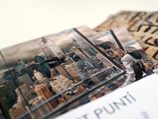 Originarte impresión offset de invitaciones y postales para galerías de arte