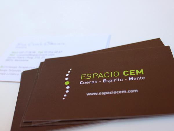 Originarte: diseño de logotipo y tarjetas e impresión de tarjeta corporativa para espacio CEM