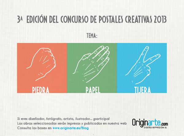 Concurso de postales creativas de Originarte, tercera edición