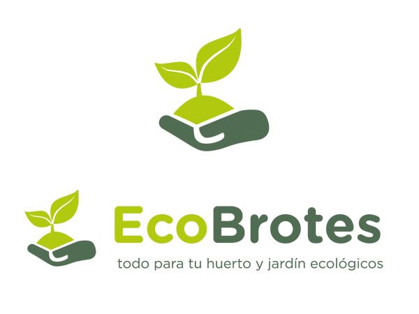 Ecobrotes diseño de logotipo