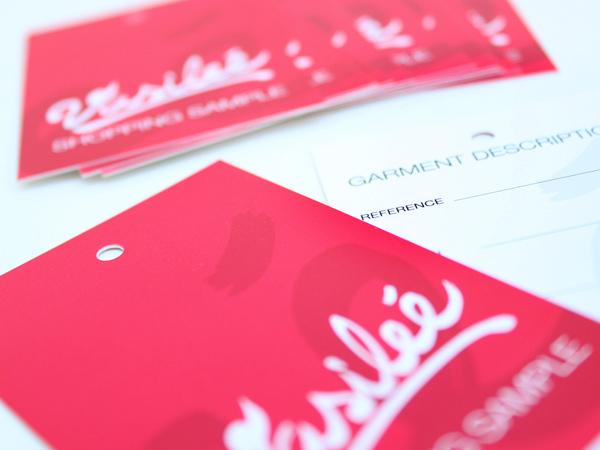 Impresión de etiquetas para ropa Vasileé