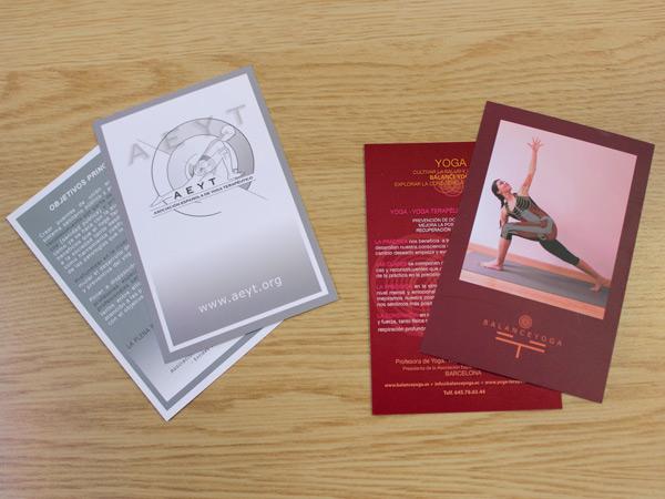 Originarte: Impresión de flyers para AEYT