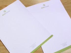 Diseño e impresión de papel carta