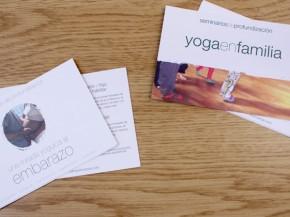 Postales Yoga en Familia