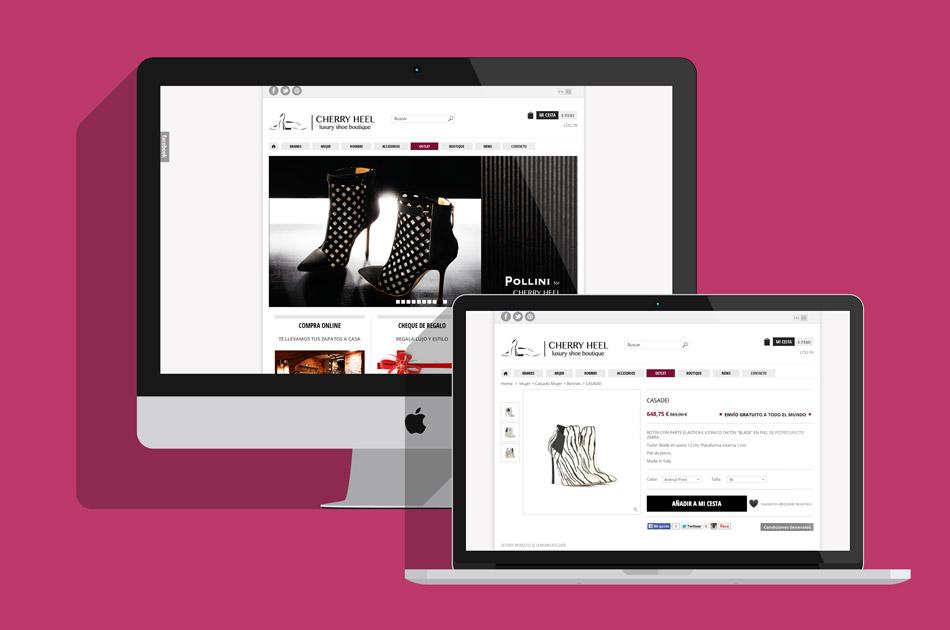 cherryheel.com: desarrollo web
