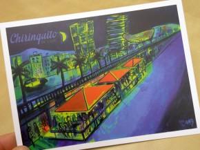 Impresión folleto postal todo color