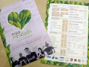Diseño e impresión de carta menú