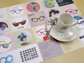 Diseño e impresión mantel individual Optichic