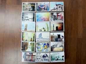 Postales: impresión para 4 retinas