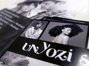 Impresión de flyer para Unyozi