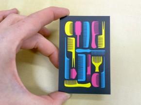 Impresión de tarjetas offset