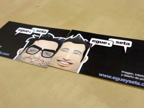 Impresión varios modelos tarjeta de visita