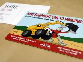 Ilustración, diseño e impresión de postal
