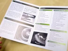 Diseño e impresión de díptico XL